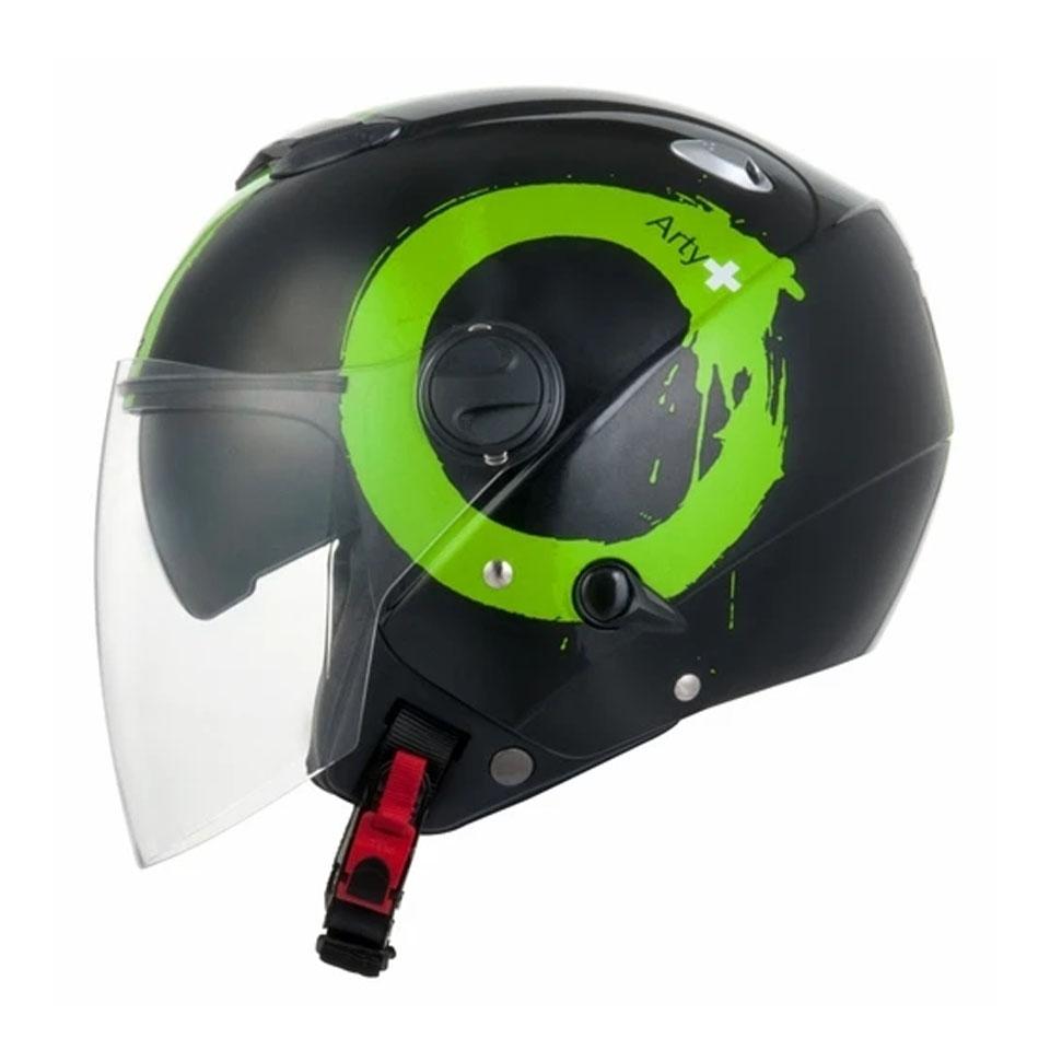 Capacete Zeus 202FBT40 Black Green
