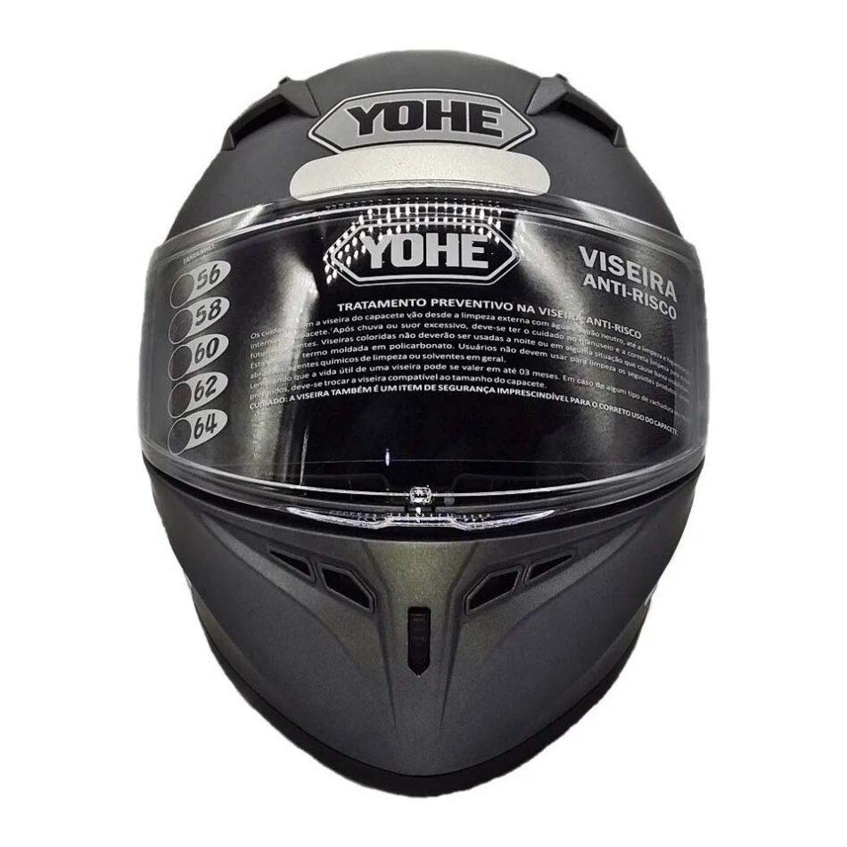 Capacete Yohe Blade Titanium Fosco