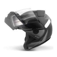 Capacete-EBF-New-E8-Drift-Preto-Fosco-Prata