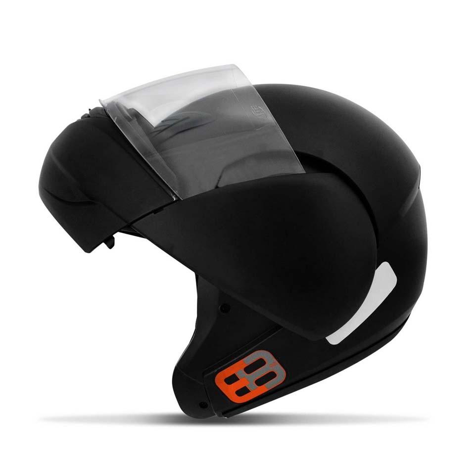 Capacete EBF New E8 Solid Preto Fosco
