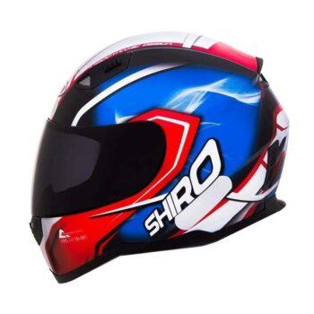 Capacete Shiro SH881 Motegi Vermelho/Azul
