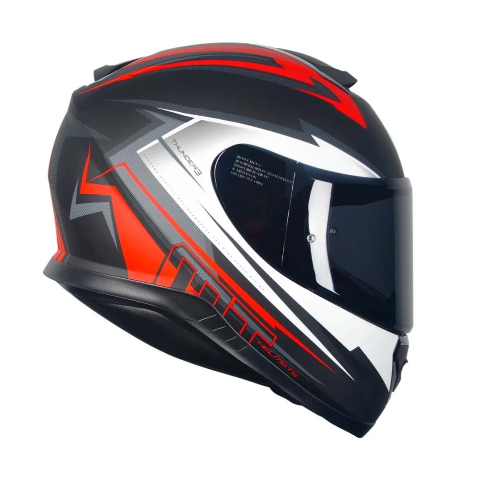 Capacete MT Thunder 3 Trex Matt/Black/Red