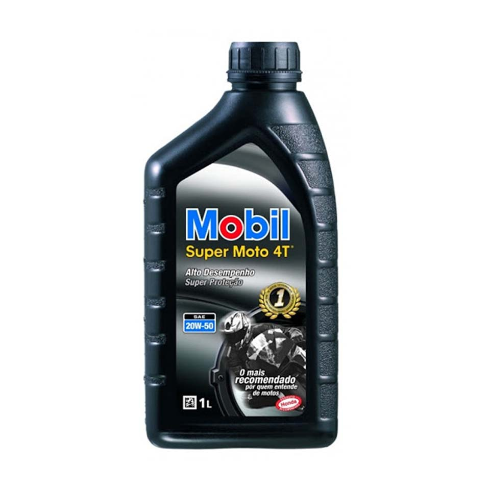 Óleo 4 Tempo 20x50 Mobil Super Moto