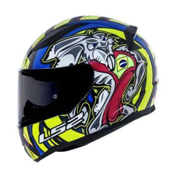 Confira agora o novo capacete LS2 Alex Barros