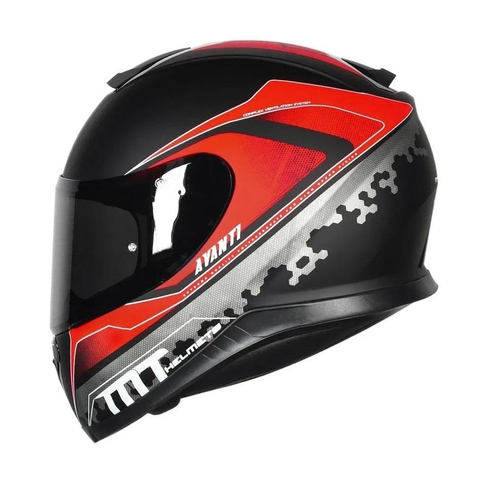 Capacete MT Thunder 3 Avanti Matt/Blk/Red