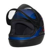 Capacete Taurus San Marino Azul Titanium 3