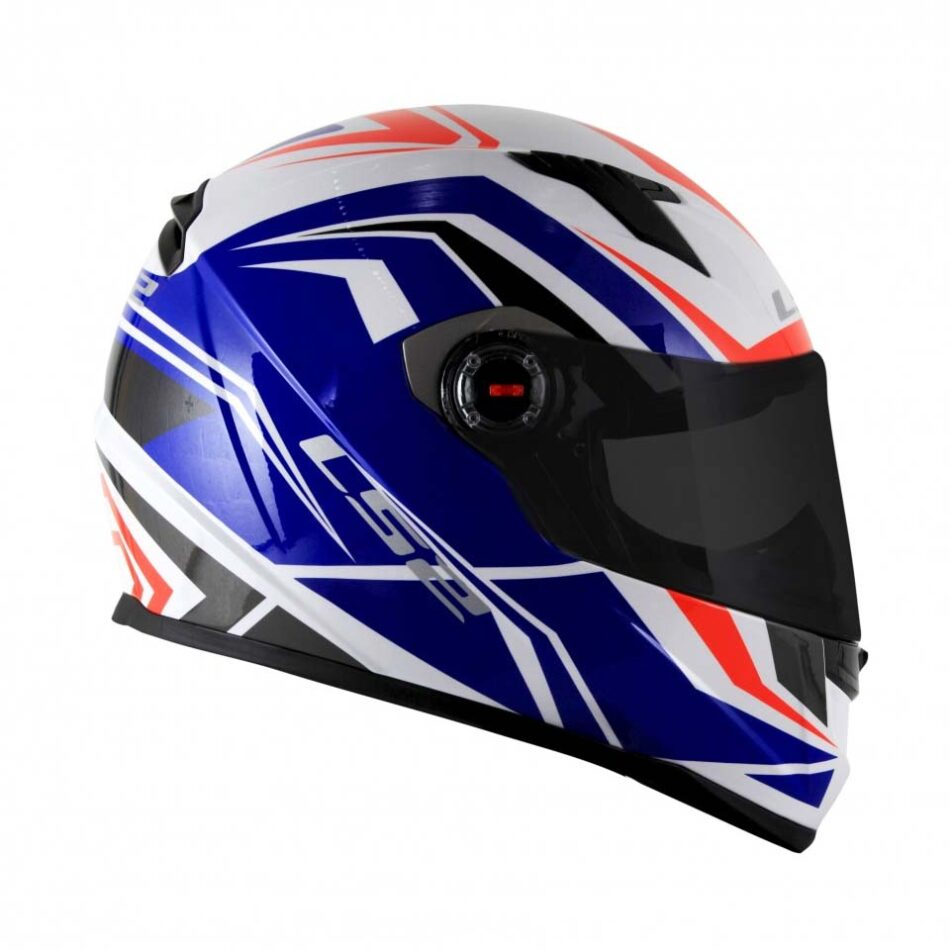 Capacete LS2 FF358 Blade Wht Blue Red
