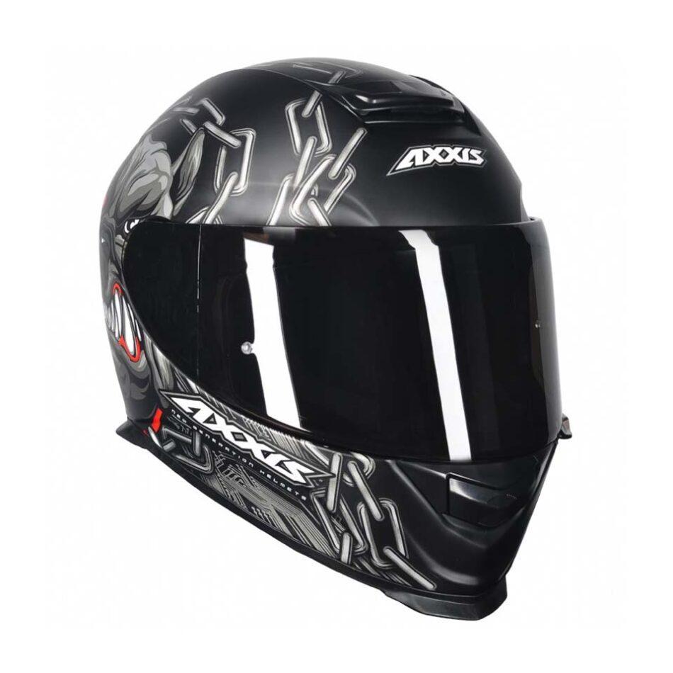 Capacete Axxis Bull Cyber Matt/Blk/Grey