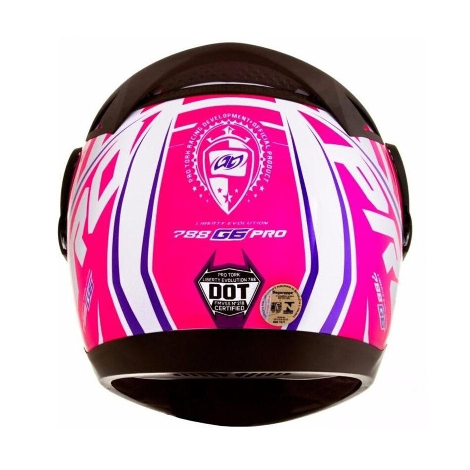 Capacete Pro Tork Evolution G6 Color Rosa