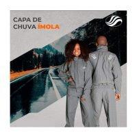 Conjunto Chuva Alba Imola Cinza Unissex 3