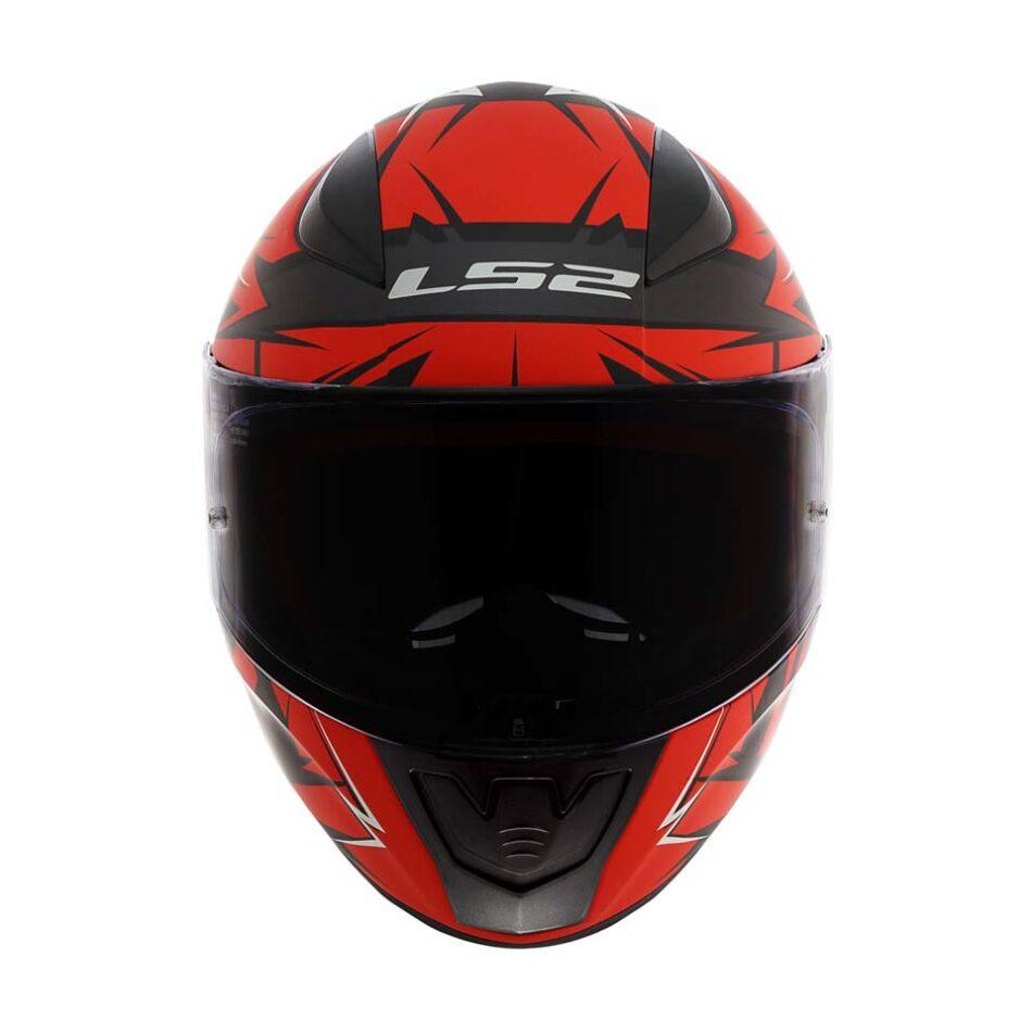 Capacete LS2 FF53 Rapid Cromo Mat Blk Red
