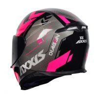 Capacete Axxis Eagle Diagon Gloss/Blk/Pink 2