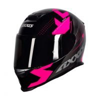 Capacete Axxis Eagle Diagon Gloss/Blk/Pink 4