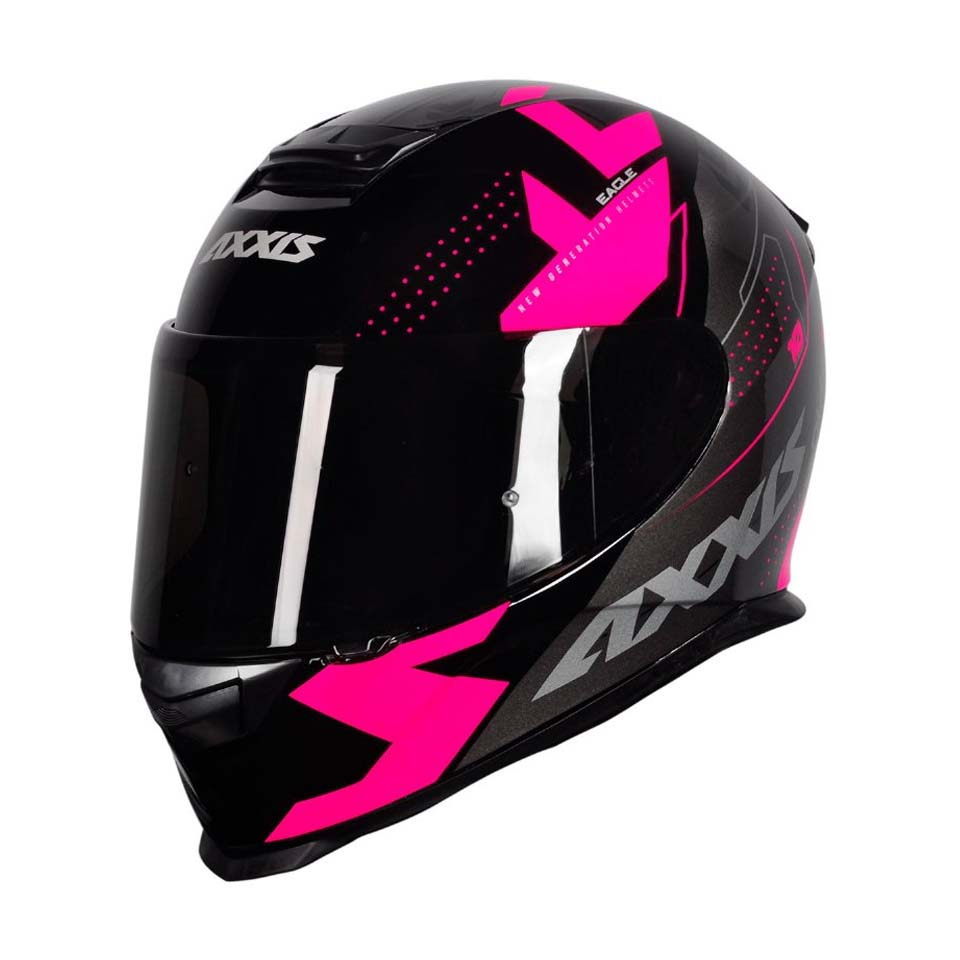 Capacete Axxis Eagle Diagon Gloss/Blk/Pink