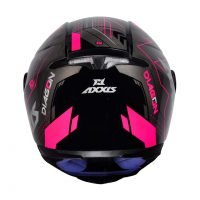 Capacete Axxis Eagle Diagon Gloss/Blk/Pink 5