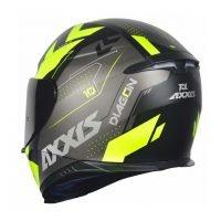 Capacete Axxis Eagle Diagon Matt/Black/Grey/Yellow 2