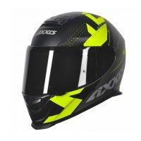Capacete Axxis Eagle Diagon Matt/Black/Grey/Yellow 6