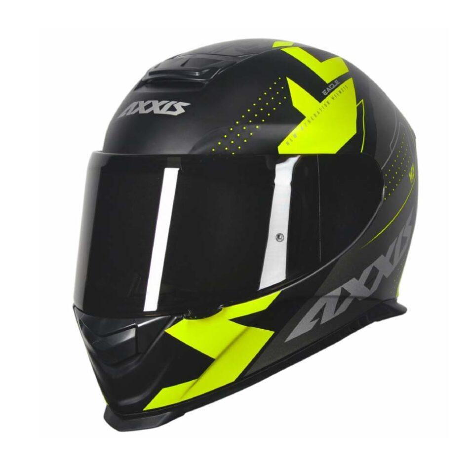 Capacete Axxis Eagle Diagon Matt/Black/Grey/Yellow