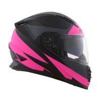 Capacete Norisk FF302 Ridic Mono Matt/Pink 2
