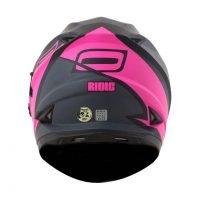 Capacete Norisk FF302 Ridic Mono Matt/Pink 5