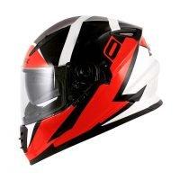 Capacete Norisk FF302 Ridic Blk/Wht/Red