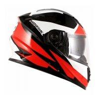 Capacete Norisk FF302 Ridic Blk/Wht/Red 3