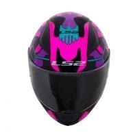 Capacete LS2 FF353 Rapid Bravado Pink/Camo 4