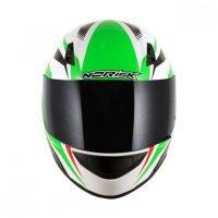Capacete Norisk FF391 Slide Wht/Green/Red 2