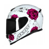 Capacete-Axxis-Eagle-Flowers-Wht-Pink