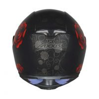 Capacete Axxis Eagle Flowers Matt/Blk/Red 3