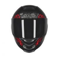 Capacete Axxis Eagle Flowers Matt/Blk/Red 4