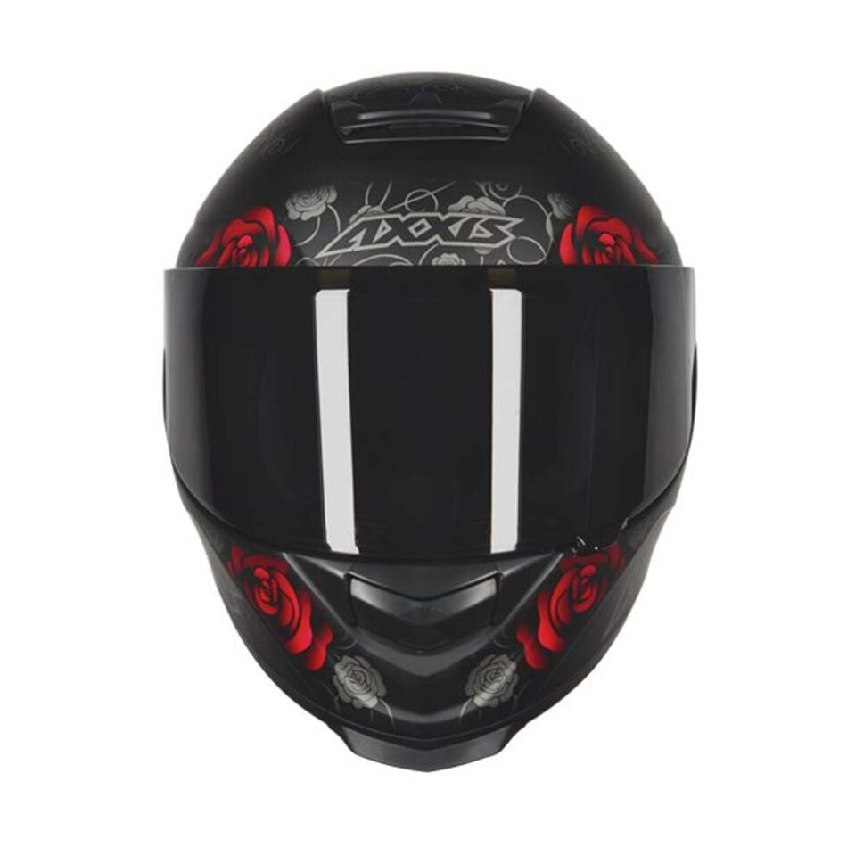 Capacete Axxis Eagle Flowers Matt/Blk/Red