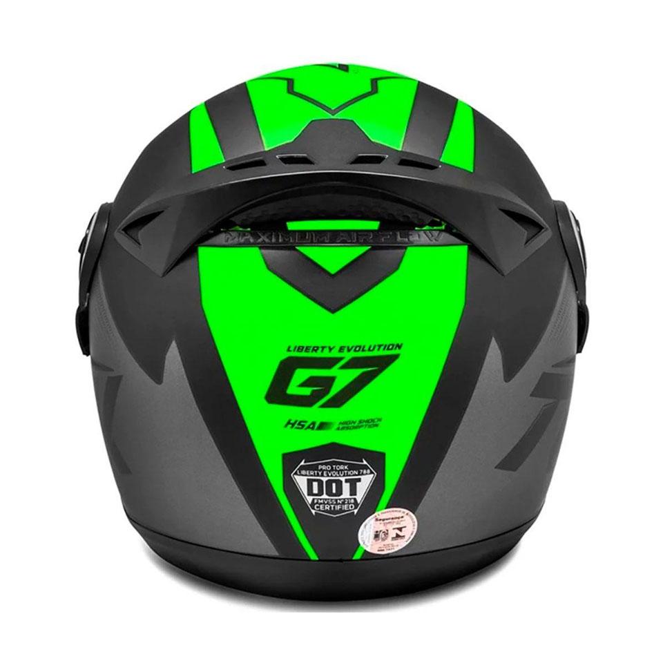 Capacete Pro Tork Evolution G7 Verde