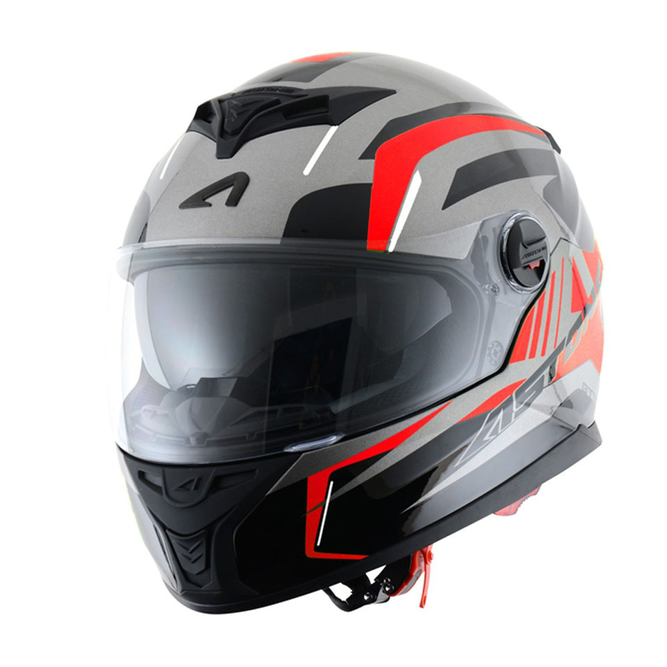 Capacete Astone GT800 Drone Red