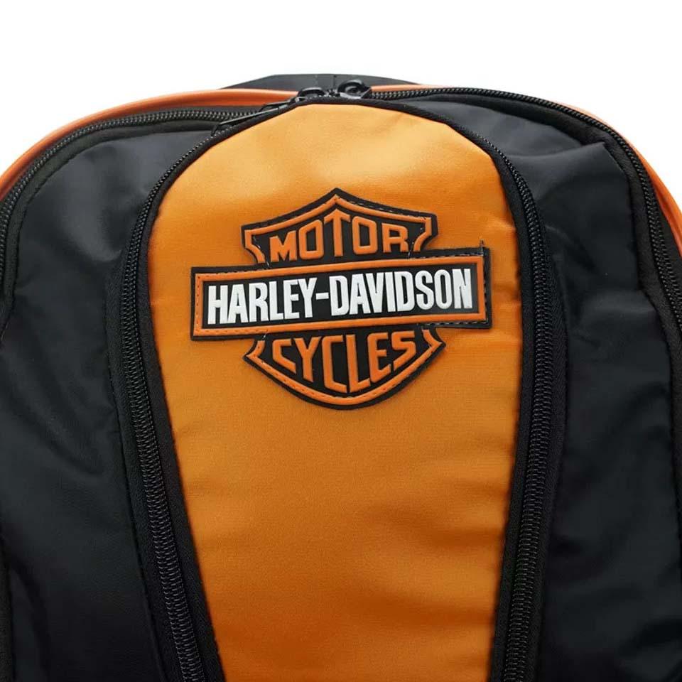 Mochila Harley Davidson Laranja