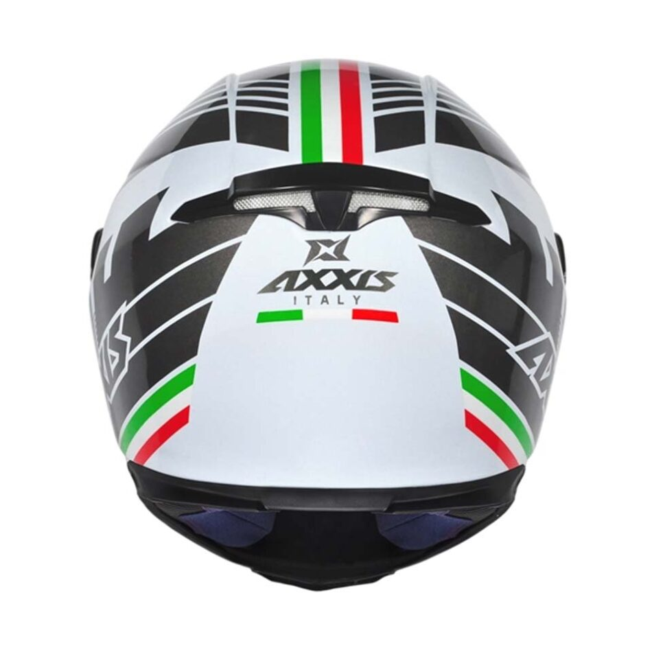 Capacete Axxis Eagle Italy White