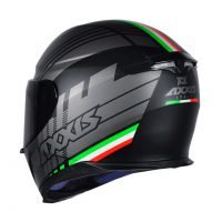 Capacete Axxis Eagle Italy Black 3