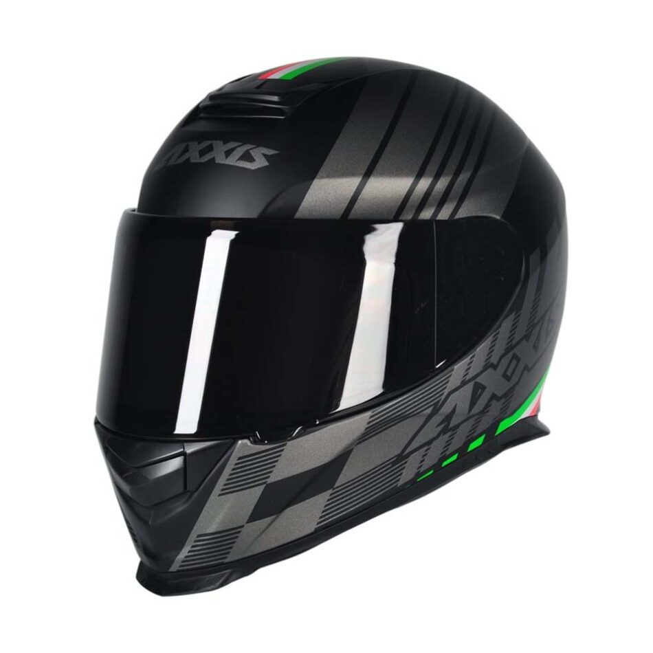 Capacete Axxis Eagle Italy Black