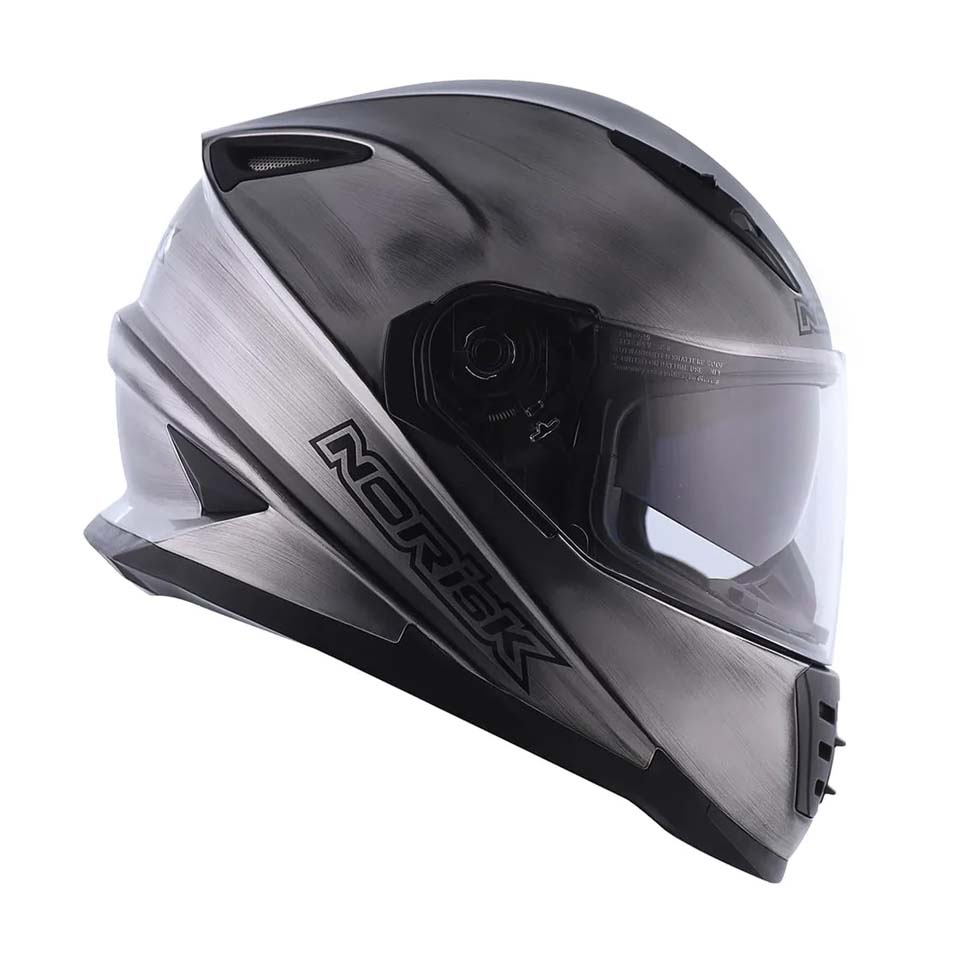 Capacete Norisk FF302 Iron Chrome