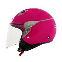 Capacete Norisk Jet Linea Wht/Pink