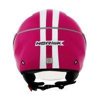 Capacete Norisk Jet Linea Wht/Pink 3