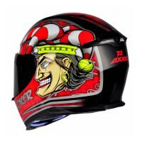 Capacete Axxis Eagle Joker Blk/Red 2