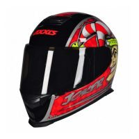 Capacete Axxis Eagle Joker Blk/Red 5