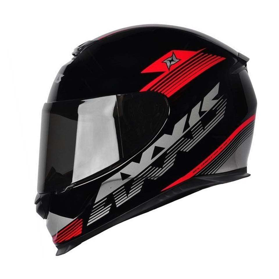 Capacete Axxis Eagle Logo Blk/Grey/Red
