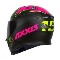 Capacete Axxis Eagle Mg16 Celebrity Edtion Marianny Blk/Pink 2