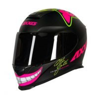 Capacete Axxis Eagle Mg16 Celebrity Edtion Marianny Blk/Pink 5