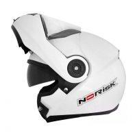 CAPACETE NORISK FF370 MONO WHITE 602