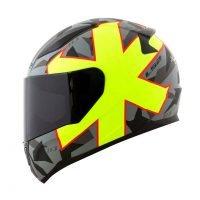 Capacete LS2 FF353 Rapid Pascoalin Matt/Grey/Yellow