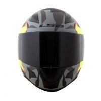 Capacete LS2 FF353 Rapid Pascoalin Matt/Grey/Yellow 2