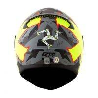 Capacete LS2 FF353 Rapid Pascoalin Matt/Grey/Yellow 4